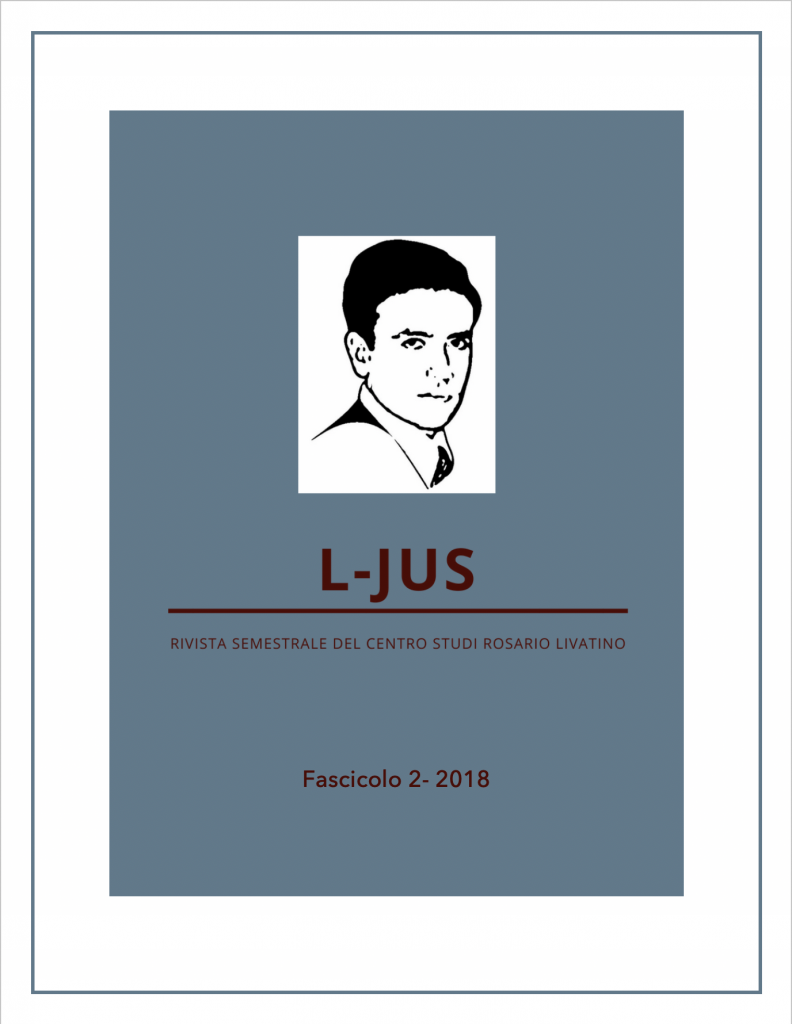 L-Jus copertina numero 2-2018